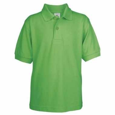 Groene polo voor kinderen
