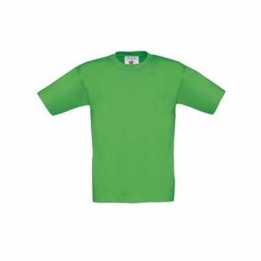 Kleding kinder t-shirt groen
